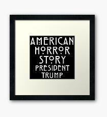 Real Life Horror Story Framed Print