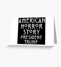 Real Life Horror Story Greeting Card