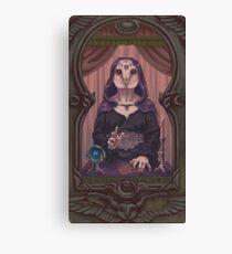 Owl-Woman Oracle Canvas Print