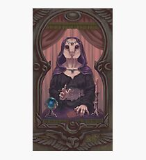 Owl-Woman Oracle Photographic Print