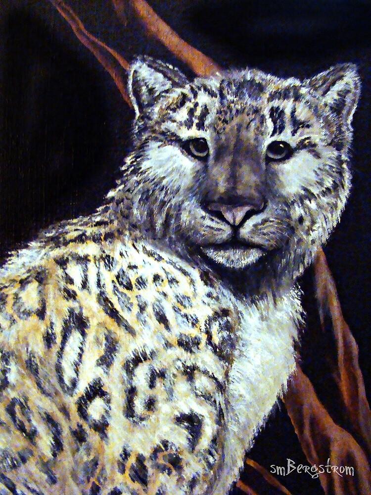 """Snow Leopard"" by Susan McKenzie Bergstrom"