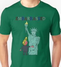 Embarrassed by Trump Unisex T-Shirt