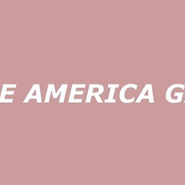 Lass uns Amerika wieder Homosexuell machen - Weiß von PlatypusDoodles