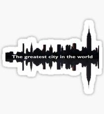 Hamilton: Greatest City in the World Sticker