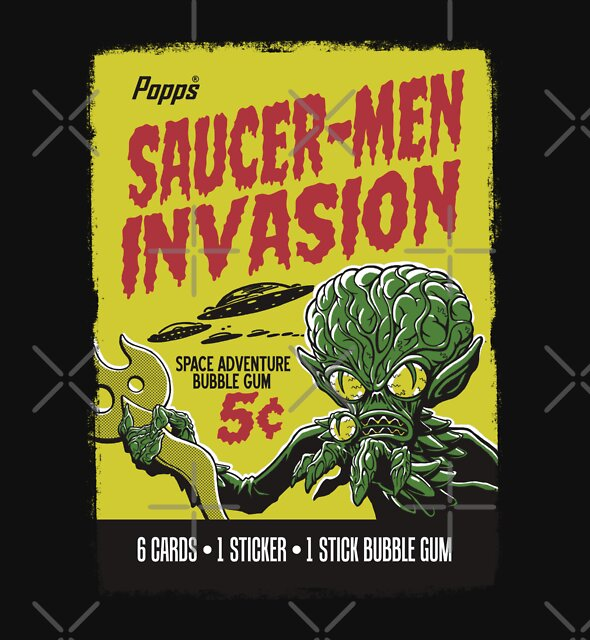 SAUCER-MEN INVASION by MINION-FACTORY