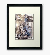Sherlock: Greg Lestrade Framed Print