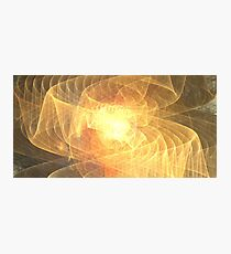 Warm Sun Ribbons Photographic Print