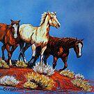 """Wild Trio"" by Susan McKenzie Bergstrom"