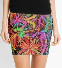 Qualia's Flowers Mini Skirt