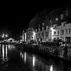 Portree Harbour at Night by derekbeattie