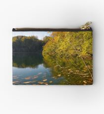 Autumn by the lake Studio Pouch