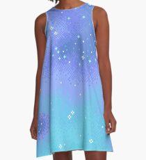 Twilight Nebula A-Line Dress