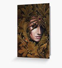 Mabon - goddess of fall Greeting Card