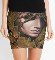 Mabon - goddess of fall Mini Skirt