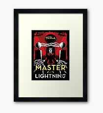 Master of Lightning Framed Print