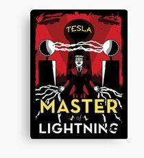 Master of Lightning Canvas Print