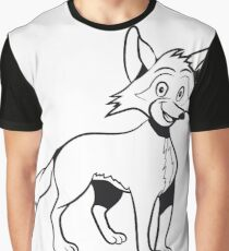 Fox funny cute Graphic T-Shirt