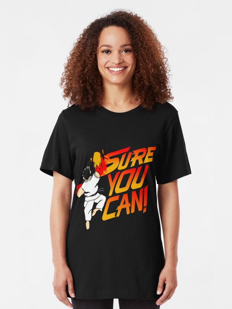 Alternative Ansicht von SICHER KANNST DU! Slim Fit T-Shirt
