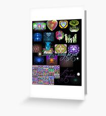 free holiday fun pack Greeting Card