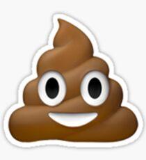 Emoji Poop Sticker