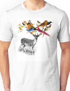 DEER BIRDY Unisex T-Shirt