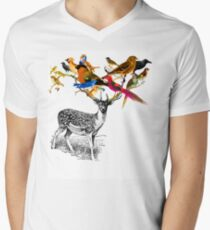 DEER BIRDY Men's V-Neck T-Shirt