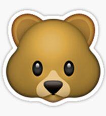 Emoji Bär Sticker