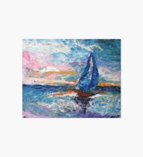 """Sail With Me"" Art Board"