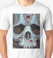 blue jeweled skull T-Shirt