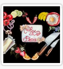 Mise en Place  Sticker