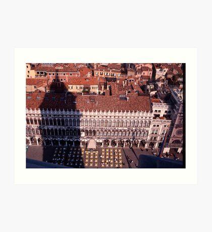Piazza, San Marco Art Print