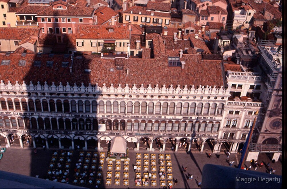 Piazza, San Marco by Maggie Hegarty