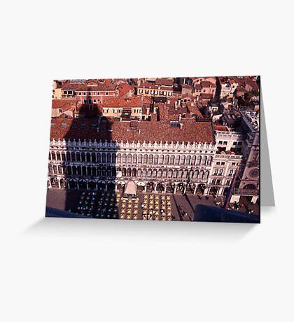 Piazza, San Marco Greeting Card
