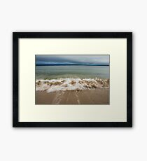 Queenslands beach, Nova Scotia Framed Print