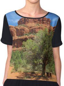 Bell Rock - Arizona Women's Chiffon Top