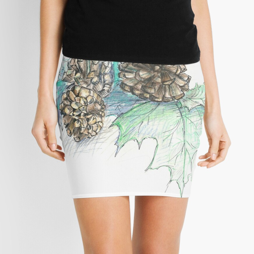 Cones Mini Skirt Front