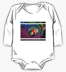 blowin the oily heart bubbles One Piece - Long Sleeve