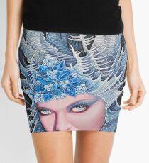chine-goddess of winter Mini Skirt