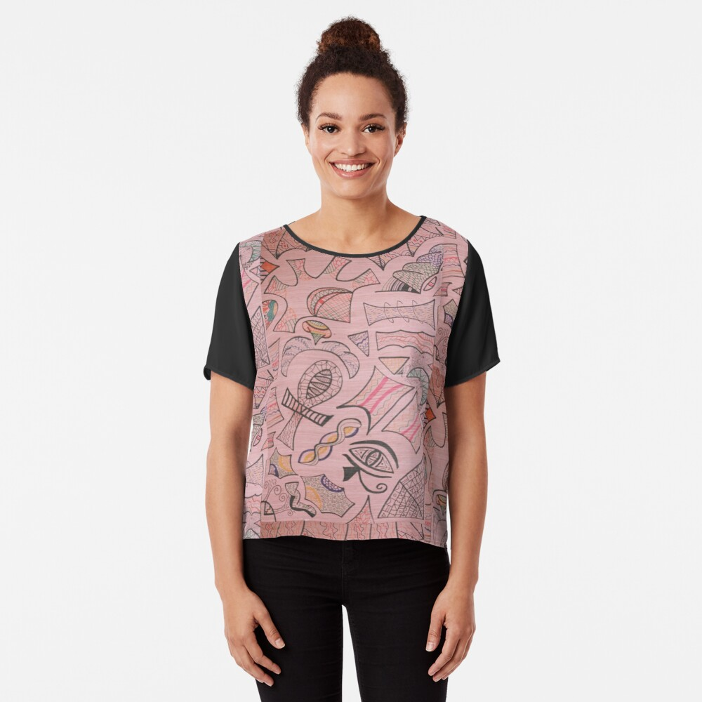 Signs and Wonders Chiffon Top