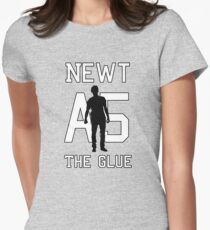 Subject A5: The Glue Women's Fitted T-Shirt
