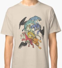 Seven Caged Tigers Classic T-Shirt