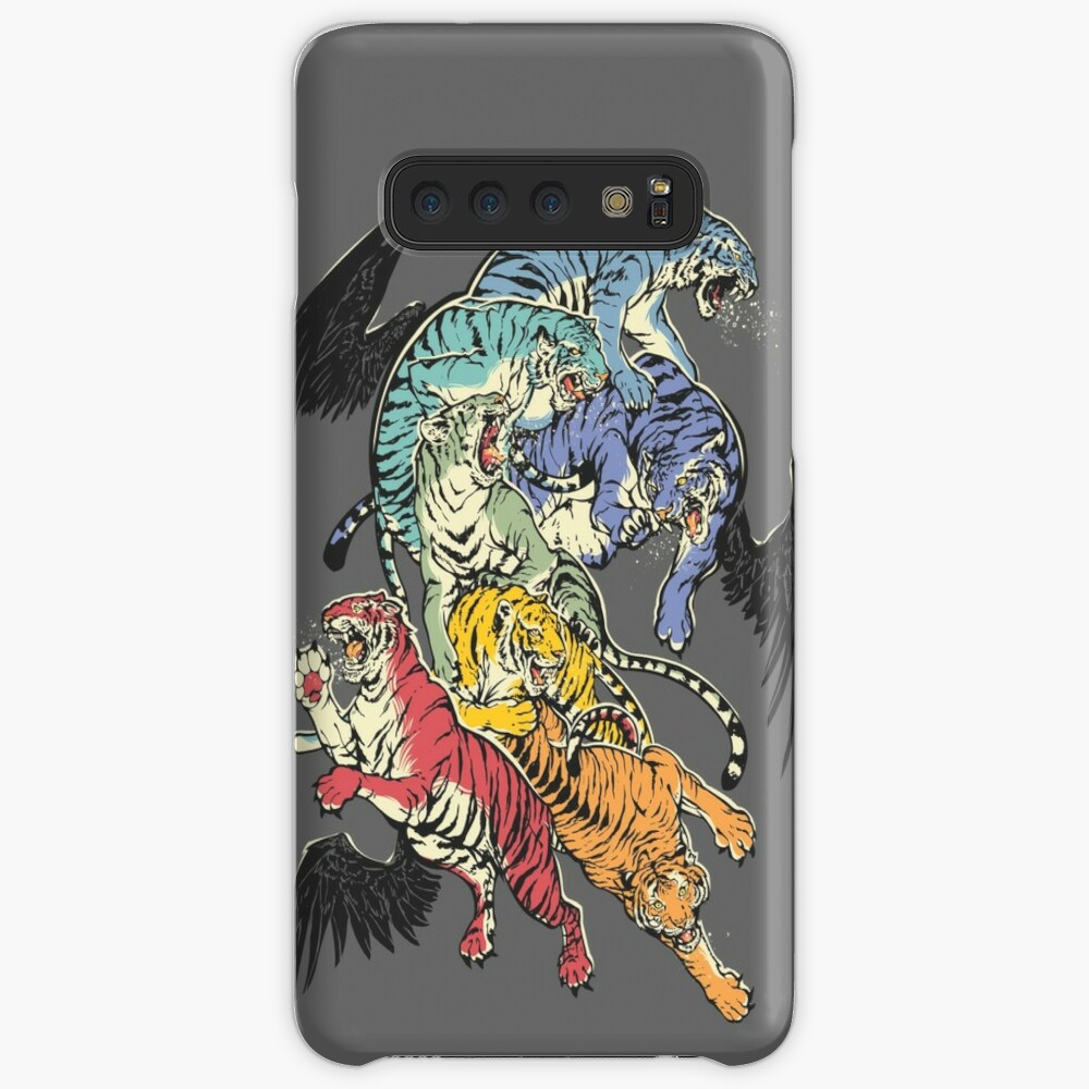 Seven Caged Tigers Case & Skin for Samsung Galaxy