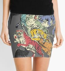 Seven Caged Tigers Mini Skirt