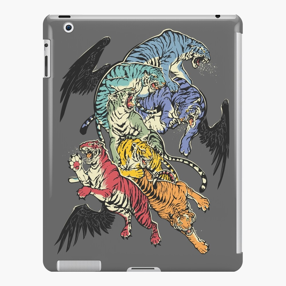Seven Caged Tigers iPad Case & Skin