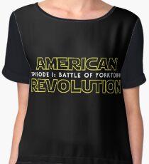 american revolution: battle of yorktown Women's Chiffon Top