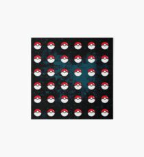 Pokeball Pattern Art Board