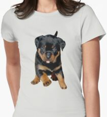 Cute Female Rottweiler Puppy Running T-Shirt