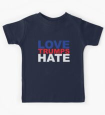 Liebe trumps Hass Kinder T-Shirt
