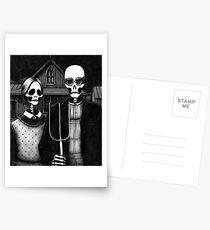 Skeleton (Even More) Gothic Postcards
