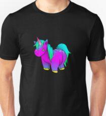 Neon Unicorn Stuffed Animal Unisex T-Shirt